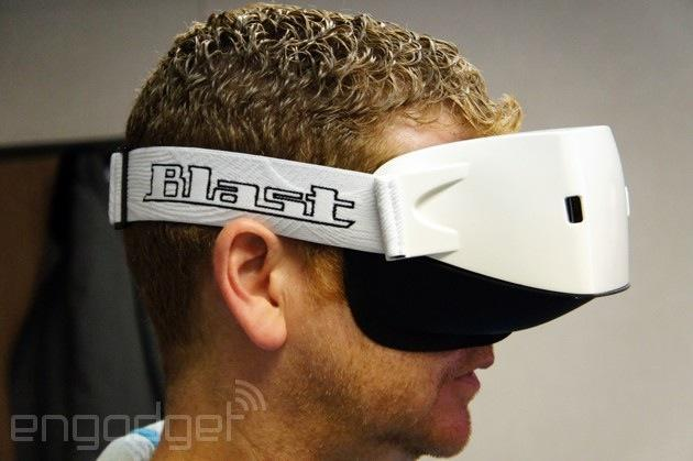 GameFace Mark IV: The other VR headset at CES 2014 (hands-on)