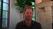 Prince Harry sends video message to wounded veterans taking on Omani trek