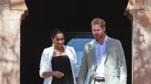 Meghan Markle y el príncipe Harry en Marruecos