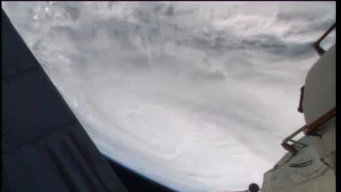 Typhoon Haiyan Seen From International Space Station Over Philippines