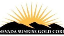 Nevada Sunrise Announces Private Placement