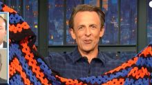 Seth Meyers Crochets A Blanket In The Time It Takes To Review GOP Hypocrisy