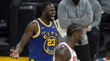 Warriors star Draymond Green ejected vs. Knicks while appearing to yell at teammate James Wiseman