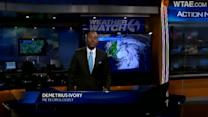 Weather Watch 4 forecast for Thursday afternoon