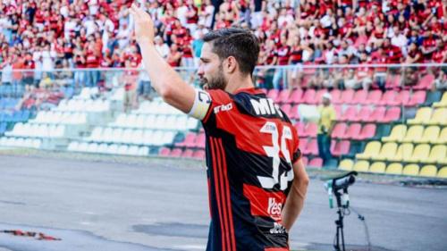 Diego avalia empate no clássico contra o Fluminense como 'justo'