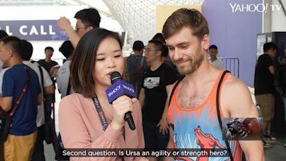 TI9: Dota 2 fans quizzed on their game knowledge at The International 2019