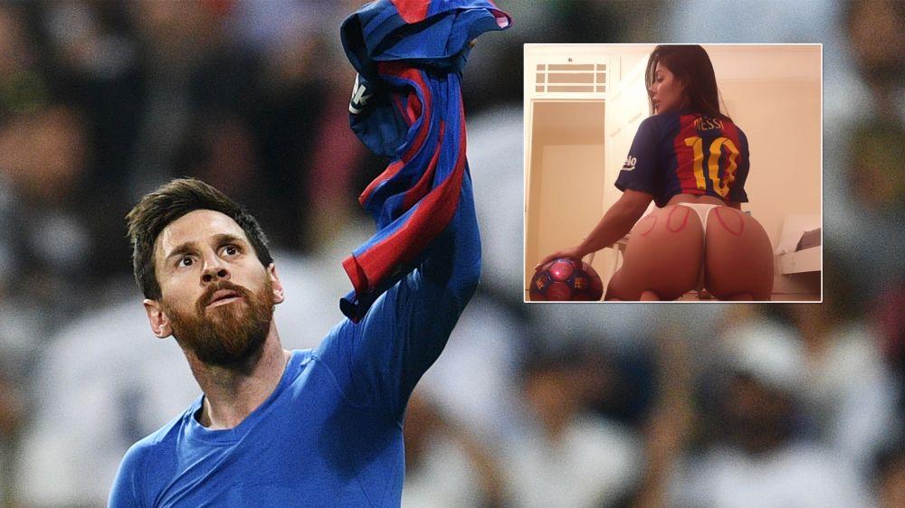 ¡Es un oráculo! Miss Bum Bum predijo los 500 goles de Messi