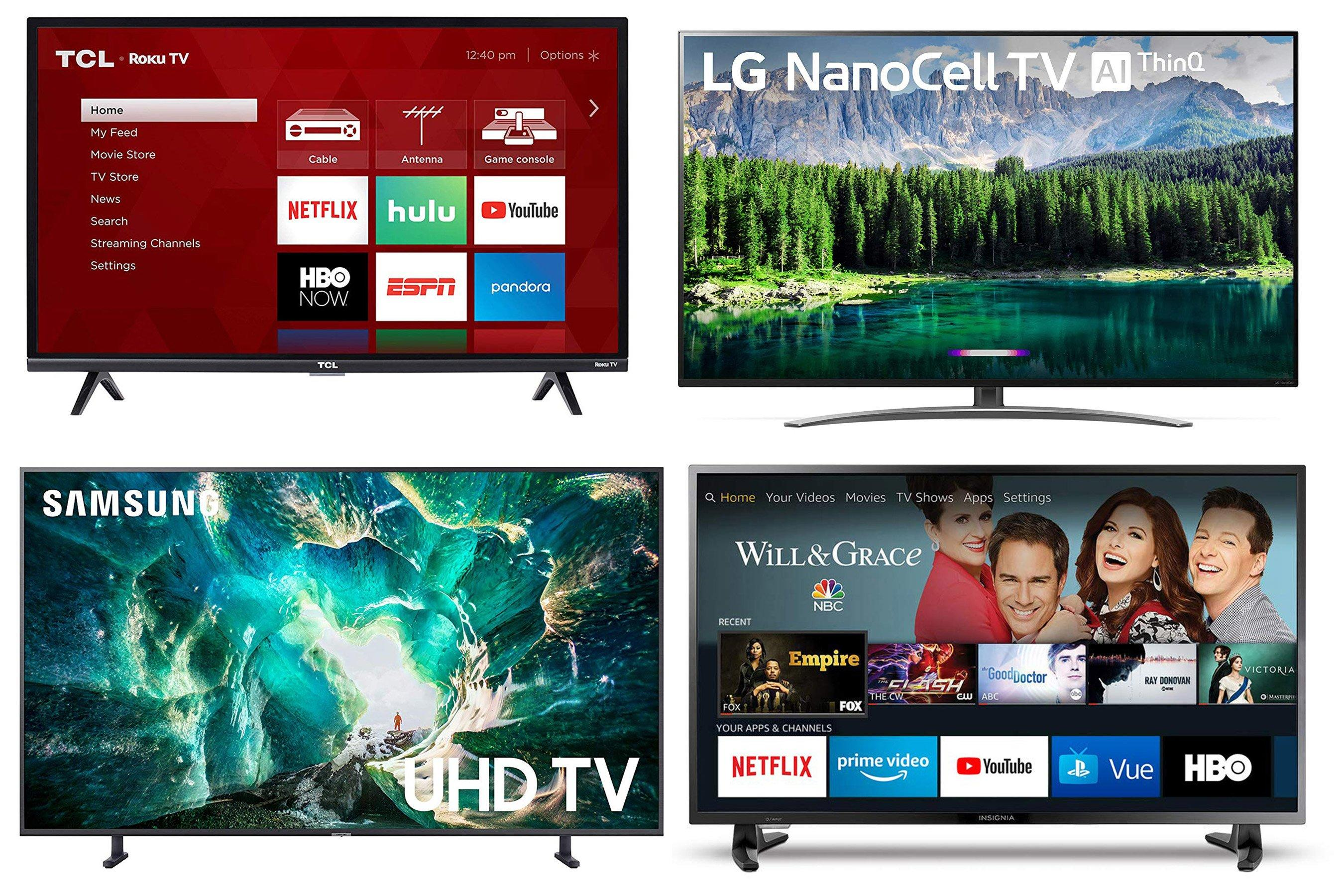 All of the Big TV Brands Just Launched Huge Sales on Amazon a Week Before Black Friday