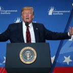 Trump says U.S. 'locked and loaded' for potential response to Saudi oil attack