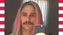 Lieber James Franco: Was soll die Regenbogen-Mähne?