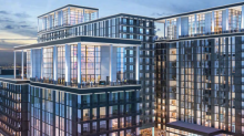 Planned new downtown apartment towers prep for construction