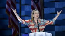 Meryl Streep Dusts Off American Flag Dress For Democratic National Convention