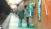 Argument leading to deadly NYC subway accident, on tape