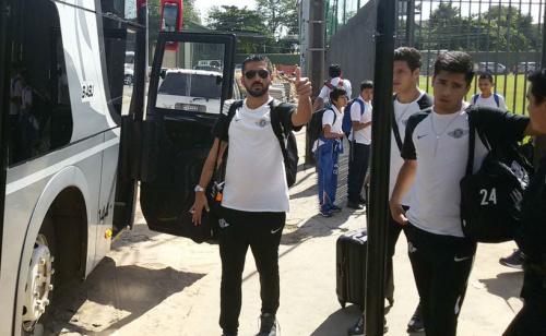 El Gumarelo viajó para el cruce con Godoy Cruz