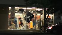 Violence and looting erupt in Missouri following shooting of unarmed black teen