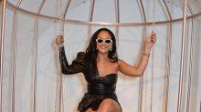 Es oficial: Rihanna ya recuperó su esbelta figura; ¡mira qué cambio!