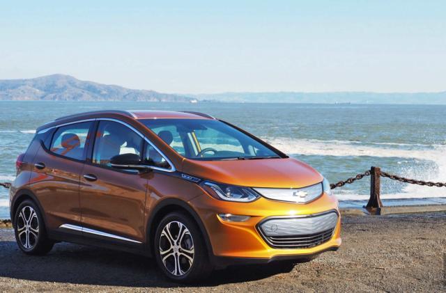GM begins mass-producing self-driving Bolt EVs