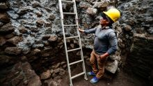 Mexico earthquake reveals lost ancient temple inside pyramid