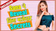 Sana Sultan Khan Reveals Funny Secrets of her Life; EXCLUSIVE INTERVIEW