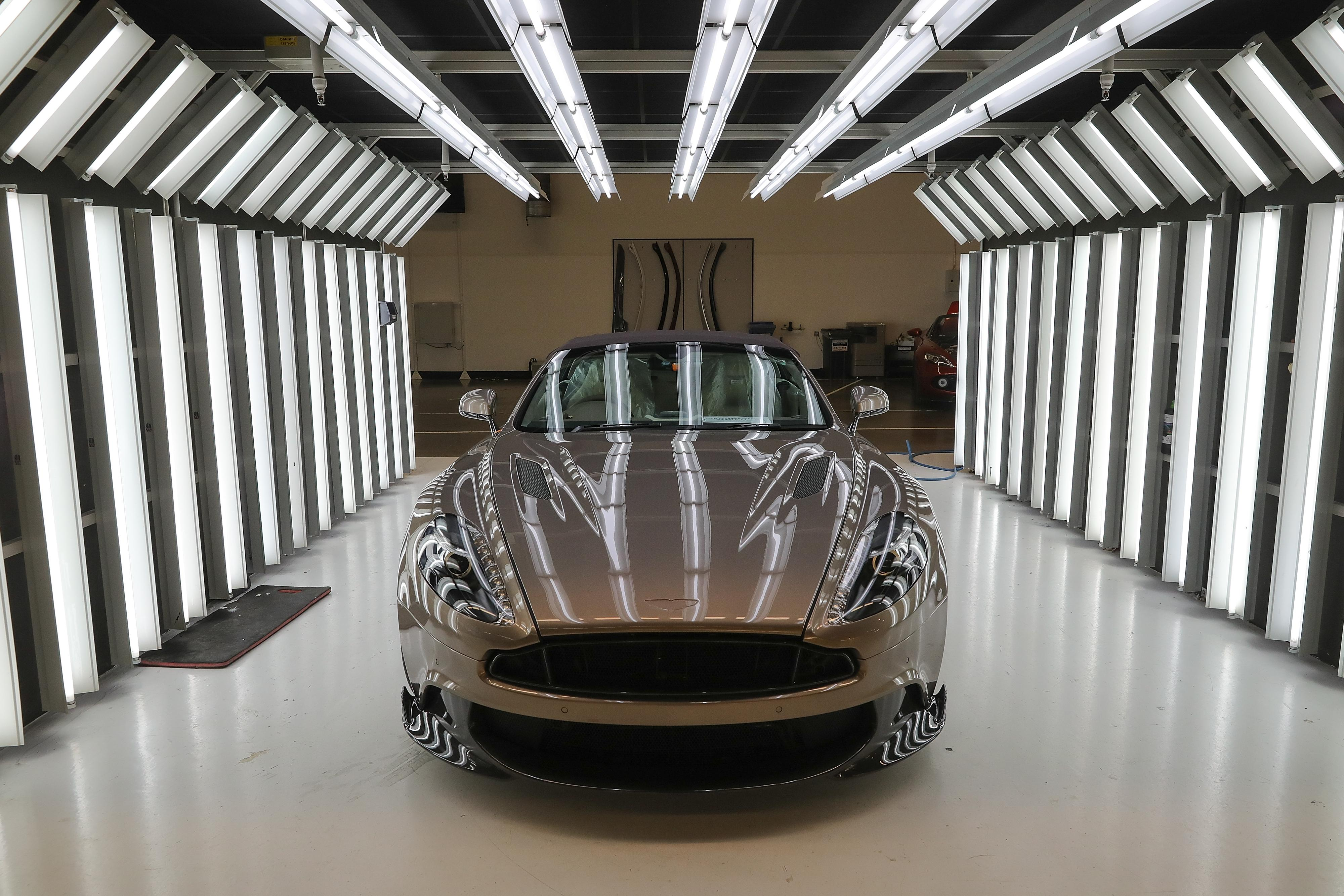 Aston Martin: £1.6bn wiped out since October as car maker plans for Brexit hit