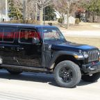 2021 Jeep Wrangler PHEV spied effectively undisguised