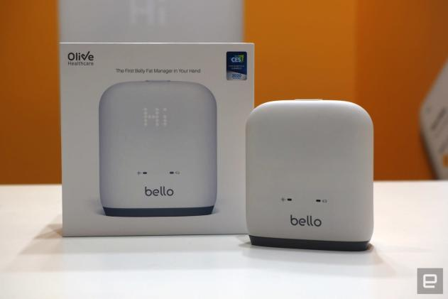 Bello's belly-fat scanner should inspire you to get on the treadmill
