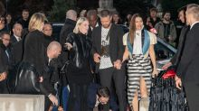 Justin Timberlake ambushed at Paris Fashion Week