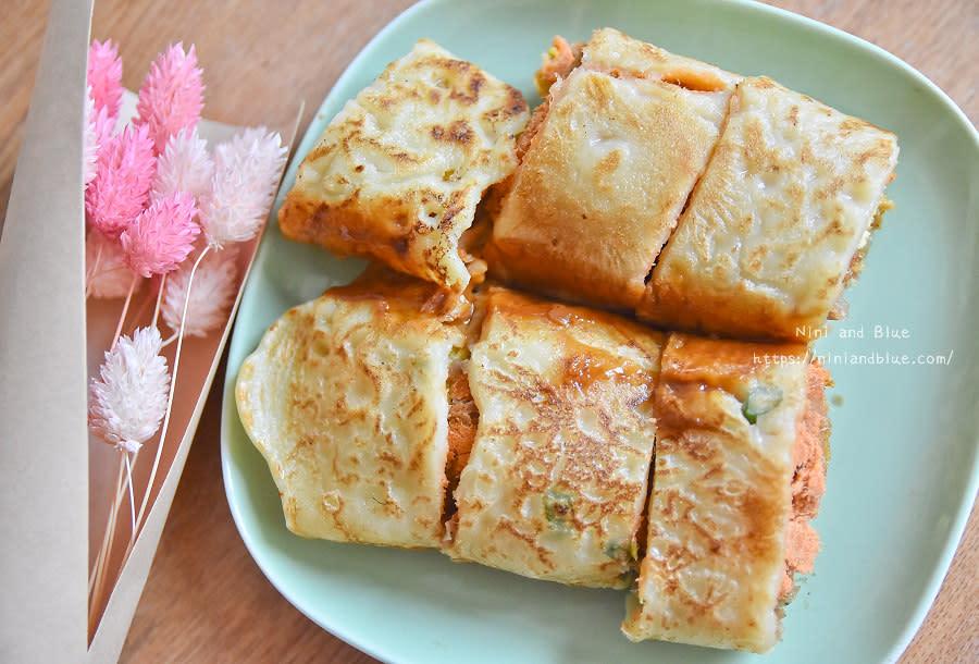 台中文華高中蛋餅 傳統古早味早餐06