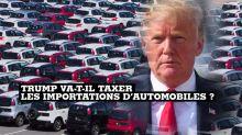 Aux États-Unis, la menace de taxes douanières sur l'automobile