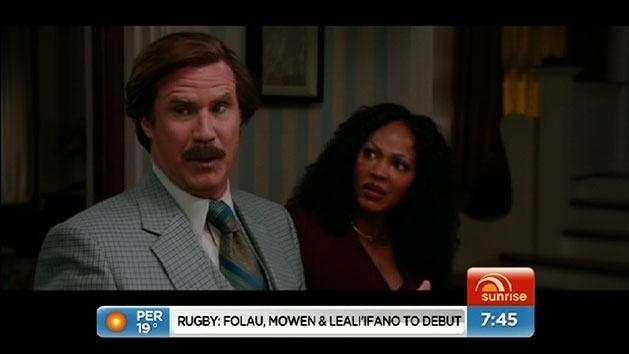 Anticipated Anchorman 2 trailer released