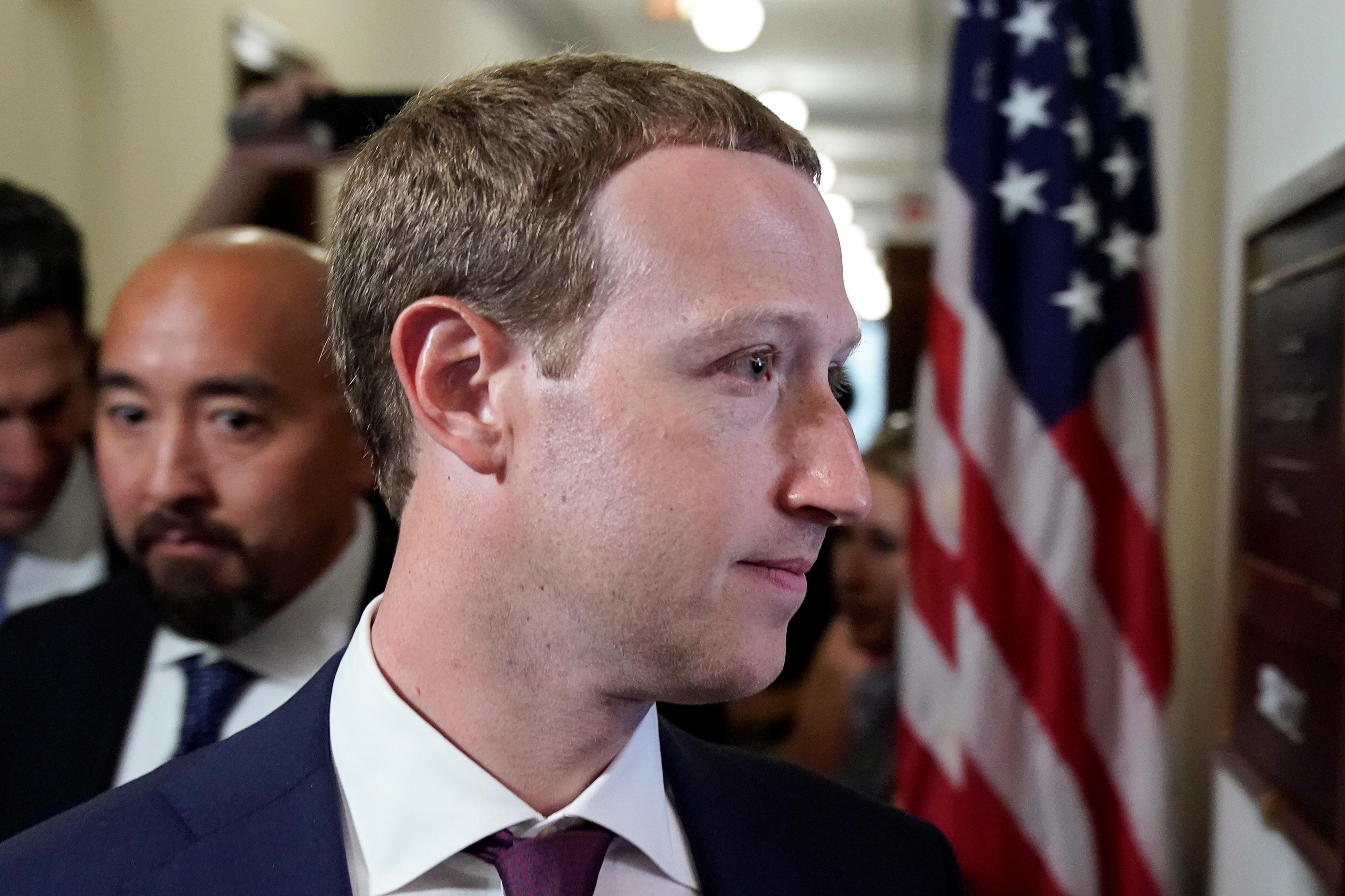 Facebook's Mark Zuckerberg to testify in Congress on the cryptocurrency Libra