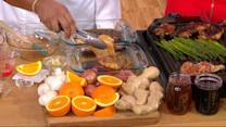 Chef Timon Balloo shares sizzling supper recipes live on 'GMA'