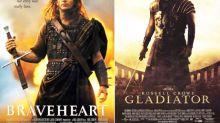 'Gladiator' o 'Braveheart' tendrían muydifícilganar elÓscarcon las nuevas normas de la Academia