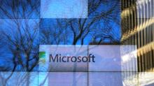 Microsoft's sales fall short of estimates, shares dip