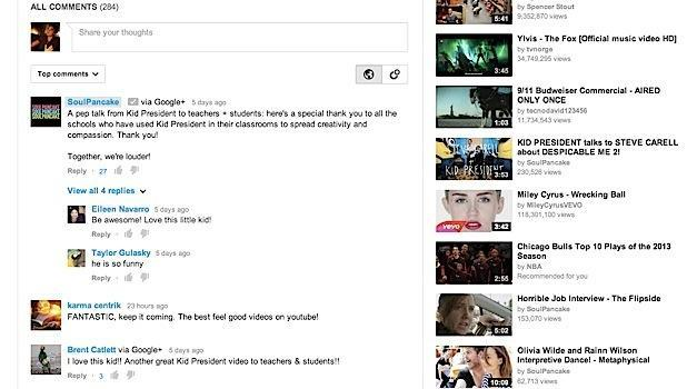 YouTube teams up with Google+ to turn comments into conversations