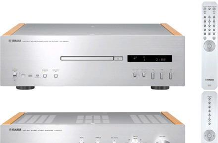Yamaha gets official with CD-S2000 SACD player, A-S2000 amplifier