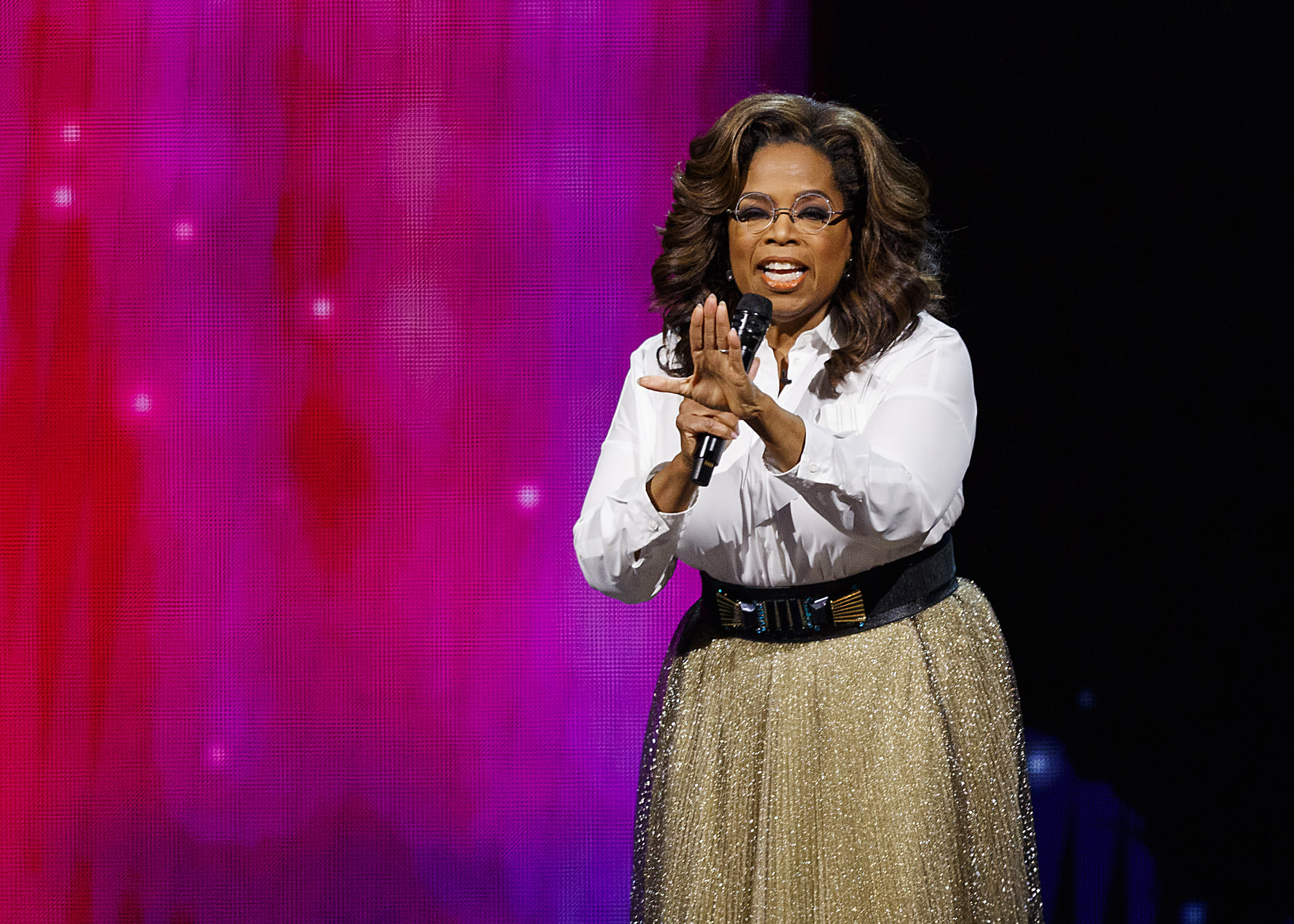 Oprah Winfrey says she never seriously considered presidential run: 'So happy I'm not in any of it'