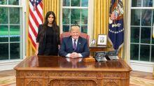 Kim Kardashian Thanks President Donald Trump After White House Meeting -- Pics