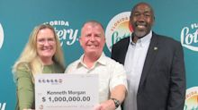 Man's $1M lotto ticket find while cleaning his house