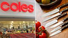 Coles shopper rages over 'dangerous' MasterChef knife problem