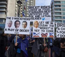 'Half million' rally in London for new Brexit vote