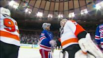 Flyers and Rangers handshake
