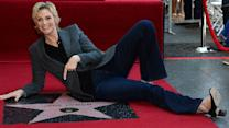 Jane Lynch Gets Her Star On The Hollywood Walk Of Fame