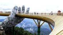 Vietnam's new Golden Bridge is mind-blowing