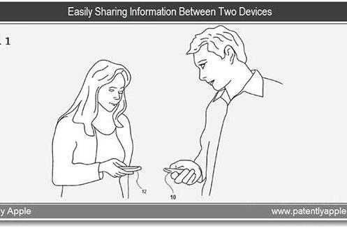 Apple submits patent application for magnetic and sound-based peer-to-peer technology