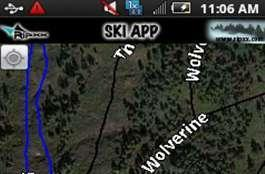 Ripxx ski app out now for Android, still has no idea what the street value of this mountain is