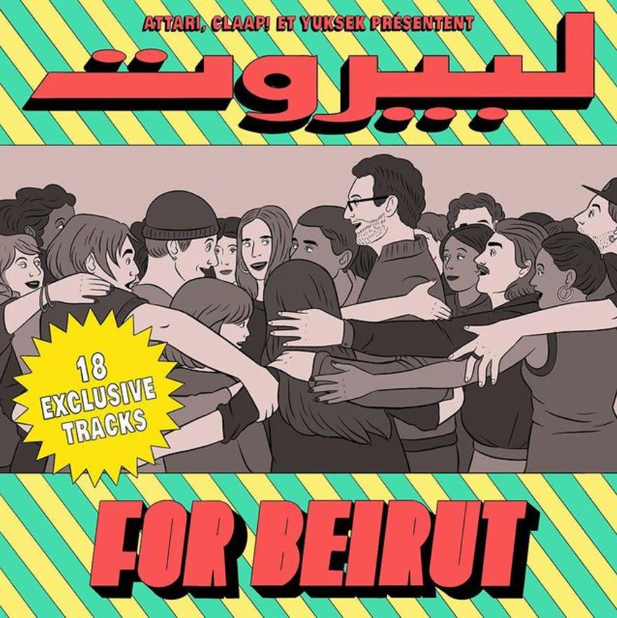 Breakbot, Yuksek et Acid Arab collaborent sur un album pour Beyrouth
