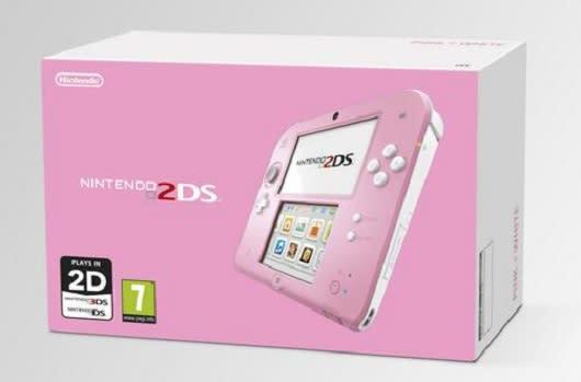 Europe gets pink-and-white 2DS alongside Kirby: Triple Deluxe in May