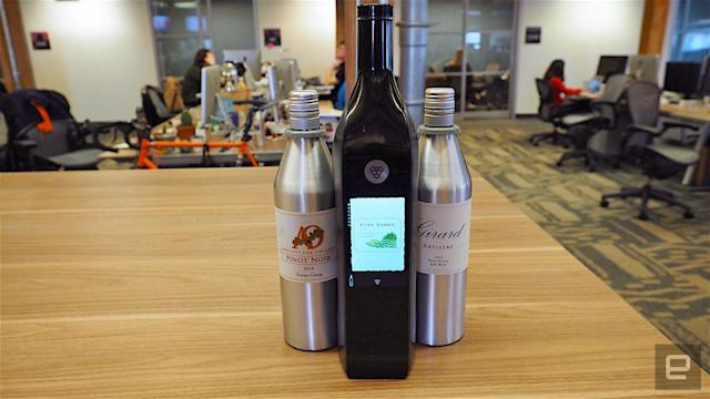 Kuvee's smart bottle is like a Keurig, but for wine