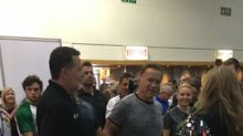 PURA and KALY Welcome Arnold Schwarzenegger to EVERx CBD Sports Water Exhibit